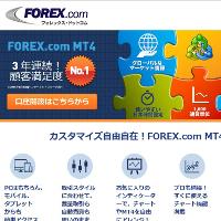 FOREX.com MT4です。