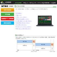 JFX MTBOの特徴です。