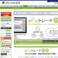 eFxトレードです。