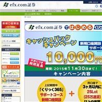 efx.com証券のくりっく365です。